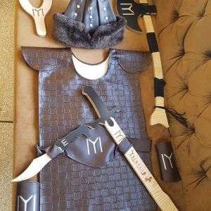 Ertugrul Sword,Cap & Turgut Axe & Bow,Dagger,Suite Set of 6
